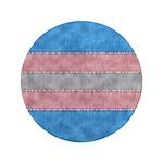 Transgender Denim Flag Button