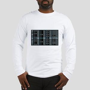 Tracker White Long Sleeve T-Shirt