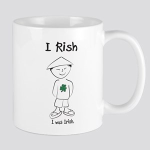 I rish I was Irish Mug