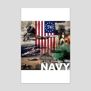 NAVY 1776 Mini Poster Print