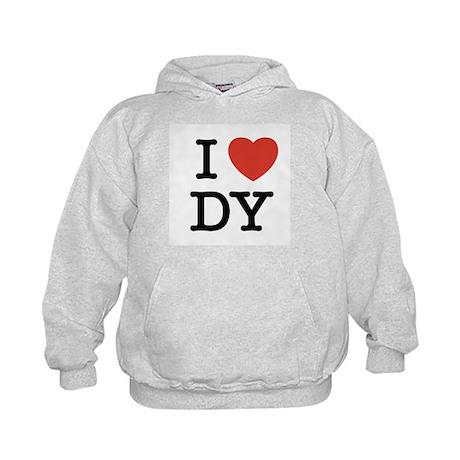 I Heart DY Kids Hoodie