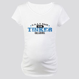 Tinker Air Force Base Maternity T-Shirt