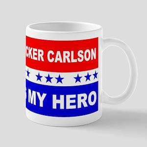 Tucker Carlson Is My Hero Mugs