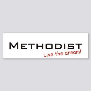 Methodist / Dream! Bumper Sticker