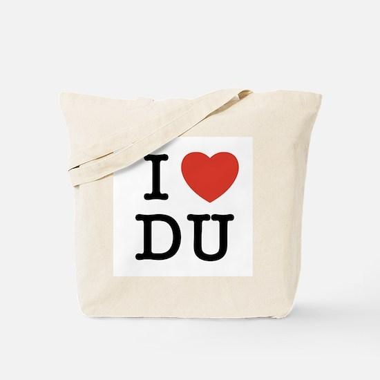 I Heart DU Tote Bag