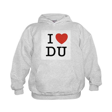 I Heart DU Kids Hoodie