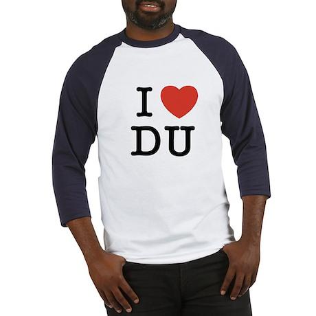 I Heart DU Baseball Jersey