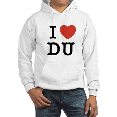 I Heart DU Hooded Sweatshirt