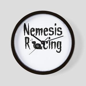 Nemesis Racing - Wall Clock by BoostGear.com