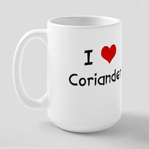 I LOVE CORIANDER Large Mug