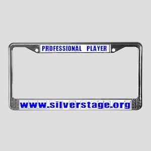 Player License Plate Frame