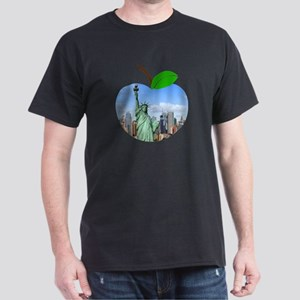 Big Apple New York Statue Of Liberty Big C T-Shirt