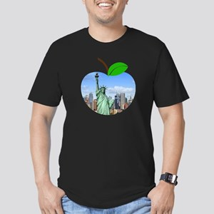Big Apple New York Statue Of Liberty Big C T-Shirt