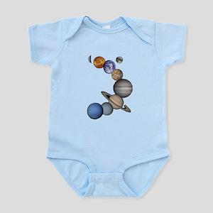 Planet Swirl Body Suit