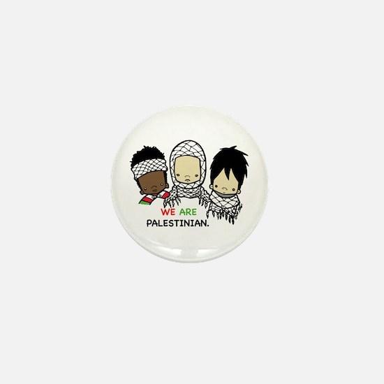 Cool Arabic palestine Mini Button (10 pack)