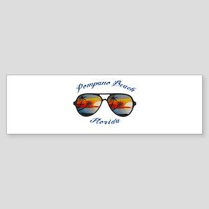 Florida - Pompano Beach Bumper Sticker