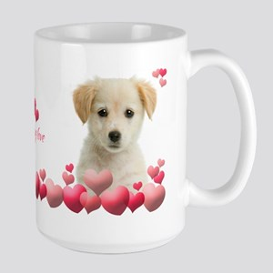 Puppy Love Large Mug