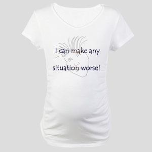 Make It Worse Maternity T-Shirt