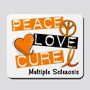 PEACE LOVE CURE MS Mousepad