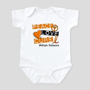 PEACE LOVE CURE MS Infant Bodysuit