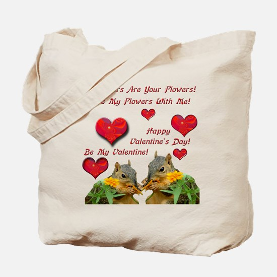 Squirrel Love Tote Bag