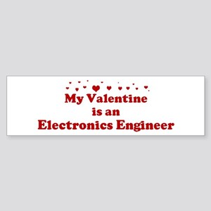 Valentine: Electronics Engine Bumper Sticker