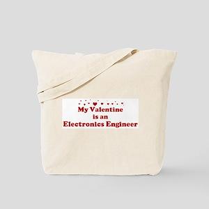Valentine: Electronics Engine Tote Bag