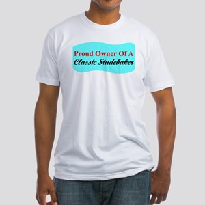 """""""Proud Stude Owner"""" Fitted T-Shirt"""