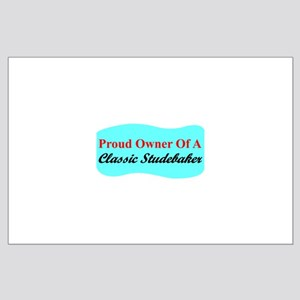 """""""Proud Stude Owner"""" Large Poster"""