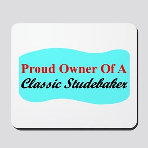 """Proud Stude Owner"" Mousepad"
