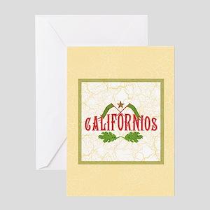 Californios Greeting Card