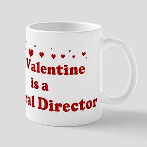Valentine: Funeral Director Mug