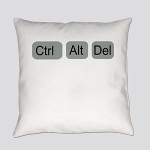 ctrl alt del Everyday Pillow