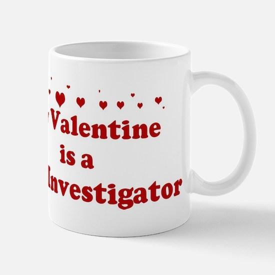Valentine: Fire Investigator Mug