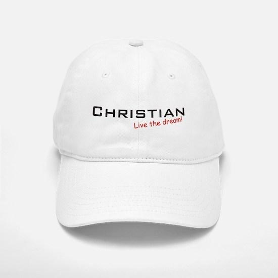 Christian / Dream! Baseball Baseball Cap