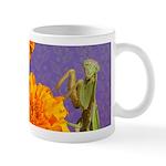 Praying Mantis Doodle Critter 11 Oz Ceramic Mugs