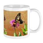 Butterfly Duo Doodle Critters 11 Oz Ceramic Mugs