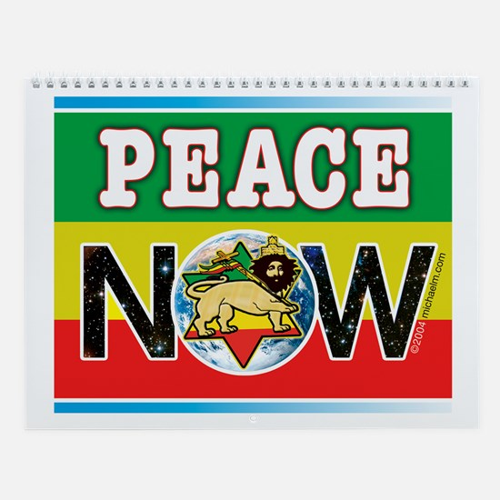 Rasta Peace Now Wall Calendar