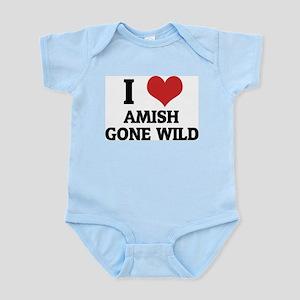 I Love Amish Gone Wild Infant Creeper