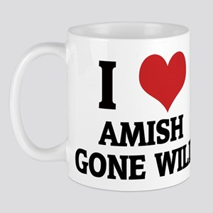 I Love Amish Gone Wild Mug
