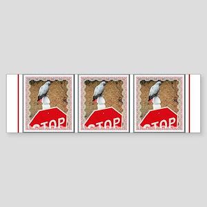 Mercury Stops Bumper Sticker