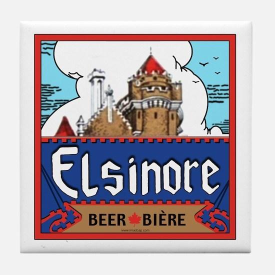 Elsinore Brewing Tile Coaster