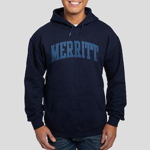 Merritt Collegiate Style Name Hoodie (dark)