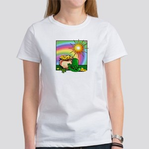 "Women's T-Shirt: ""Leprechaun Leftovers"""
