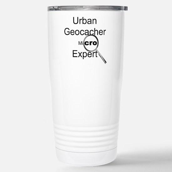Urban Geocacher Stainless Steel Travel Mug