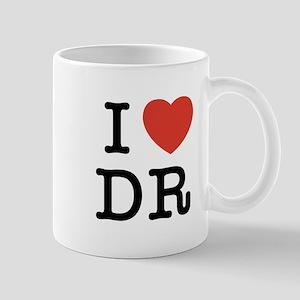 I Heart DR Mug