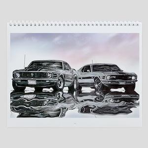 1970 Ford Mustang Wall Calendar