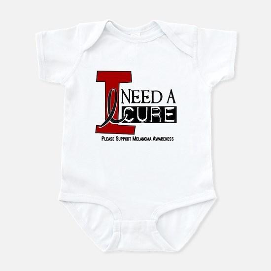 I Need A Cure MELANOMA Infant Bodysuit
