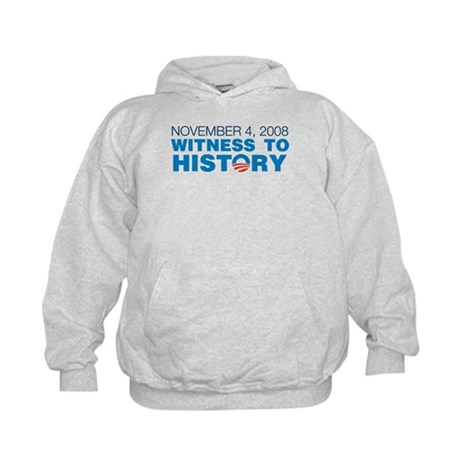 Witness to History/Historic Headlines Kids Hoodie