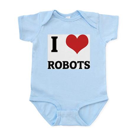 I Love Robots Infant Creeper